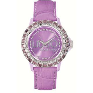 LIU JO Luxury orologio donna  Baugette Rosa e Bianco Mod. TLJ160   Orologi Donna Outlet Orologi e Gioielli