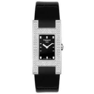 Tissot  T-trend Bellflhour Collezione Black Diamond Dial Orologio Donna Ref. T11.1.425.51   Orologi Donna Orologi al Quarzo