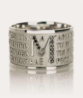 TUUM  ANIMAE modello MATER Diamanti anello unisex Ref. TUAMLA9DC00     Gioielli Donna Anelli Gioielli Uomo Anelli