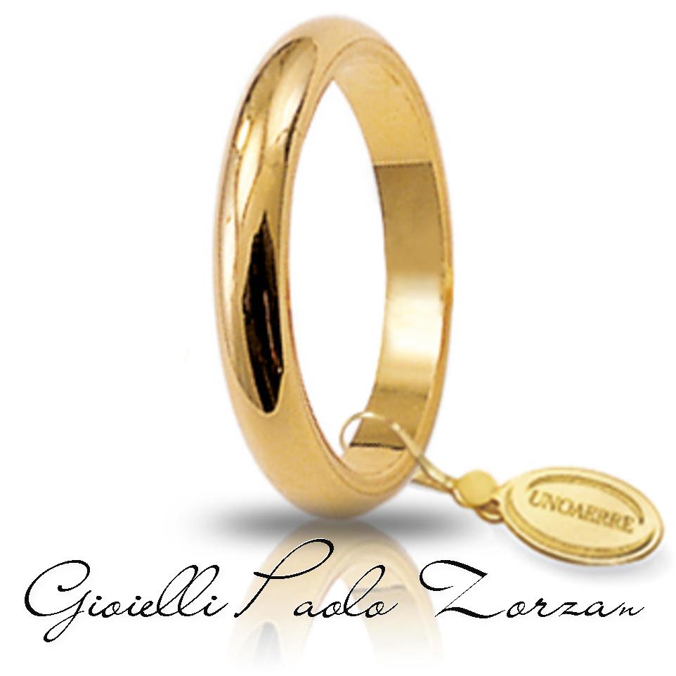fede francesina oro giallo