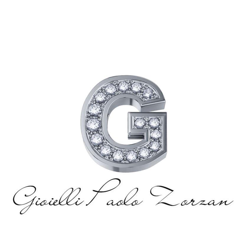 Donna Oro Element Lettera G Oro Bianco Con Brillanti Da 0.02 Ct Ref. DCHF3319G.002      Elementi per Bracciali Elementi per Bracciali Gioielli Donna Gioielli Uomo Numeri e Lettere