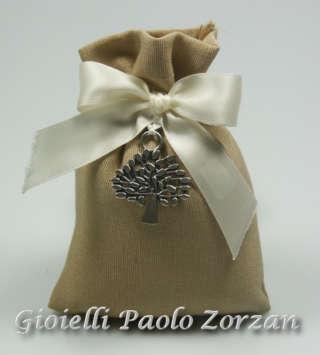 Bomboniera porta confetti per cerimonia Cuore Matto Ref. D5046-0