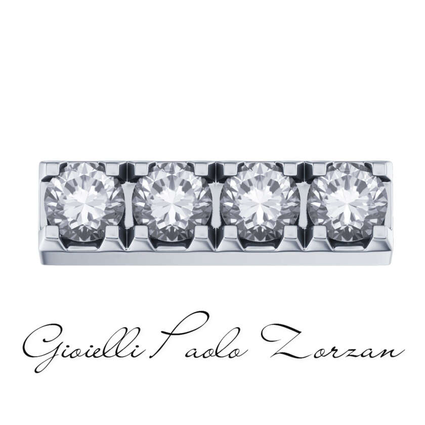 Elements Lucciole  Griffe Donna Oro in Oro Bianco e Diamanti Ref. DCHF4126.004    Elementi per Bracciali Gioielli Donna Pietre Preziose