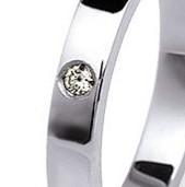 Supplemento incastonatura diamante Bianco ct. 0.05 ref. CAST005T   Fedi Nuziali Personalizzazioni Fedi