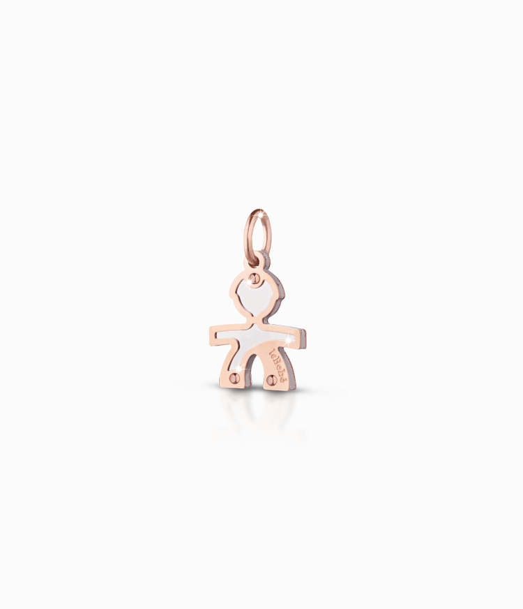 CHARM LE BEBE' PER BRACCIALE COMPONIBILE LOCK YOUR LOVE LBB161-0