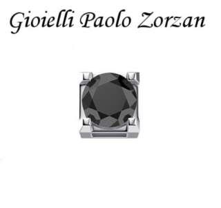 Elemento DONNA ORO GRIFFE ORO BIANCO CON DIAMANTE NERO DCHF3303005-0