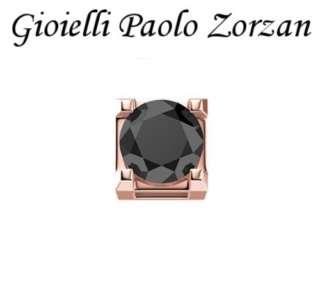 Elemento DONNA ORO GRIFFE ORO ROSA CON DIAMANTE NERO DCHF3305005-0