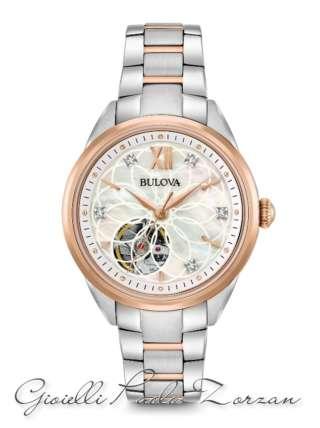 Orologio Bulova da Donna con Diamanti Automatico ref. 98P170   Orologi Donna Orologi Meccanici