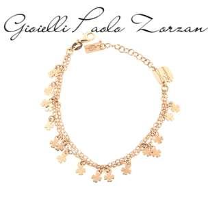 Bracciale  Piti Mali tre fili soggetto stelline in argento rosato REF. 120/B-FO   Bracciali Gioielli Donna