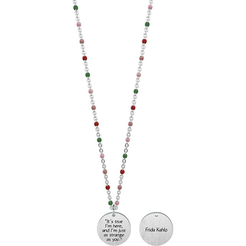 Collana Donna Kidult frida kahlo collection 751149     Collane Gioielli Donna Gioielli San Valentino Per Lei