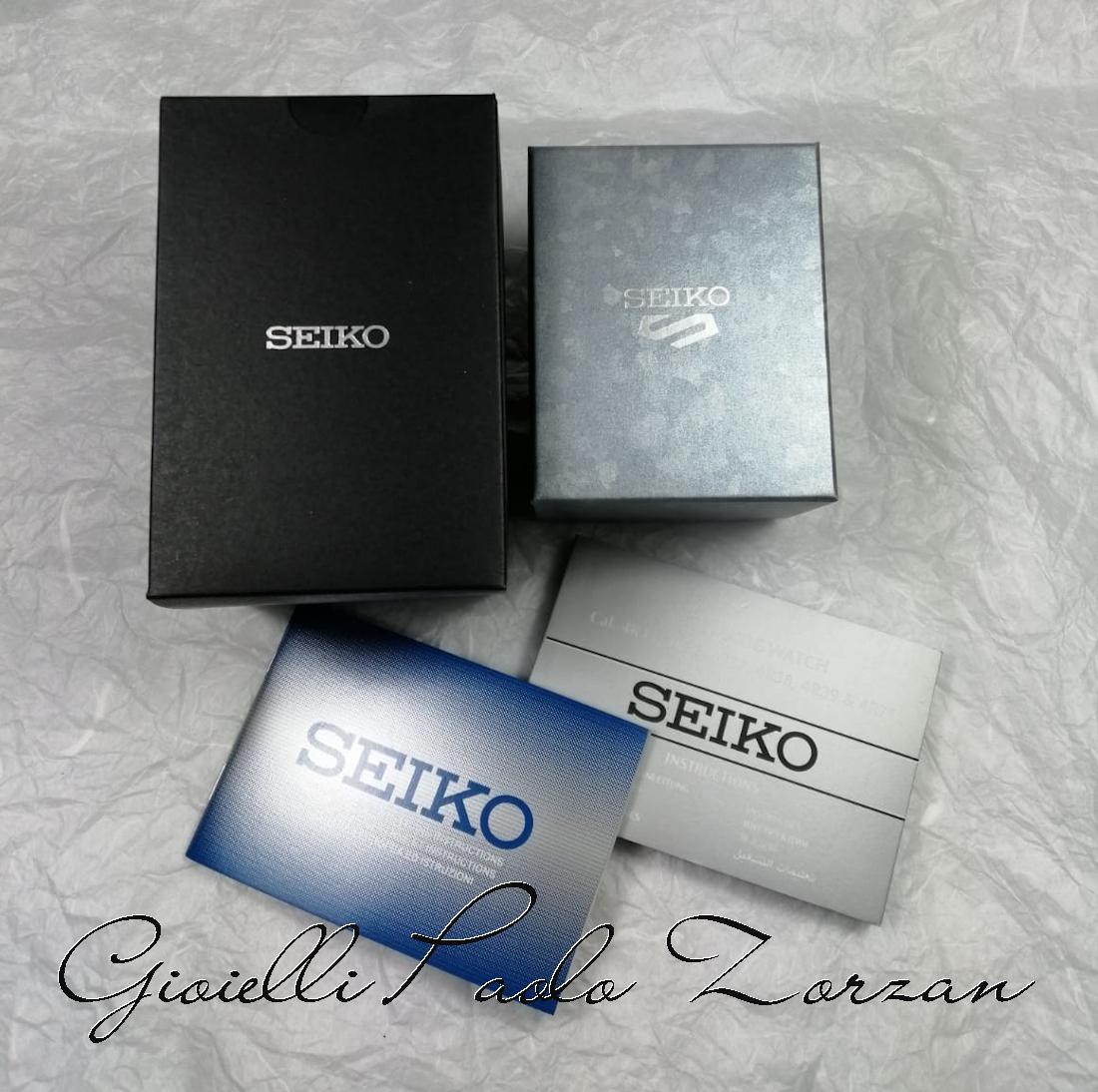Orologio Seiko 5 Sports ref. SRPD77K1 Sense Style Automatic Quadrante e Ghiera Verde-15139