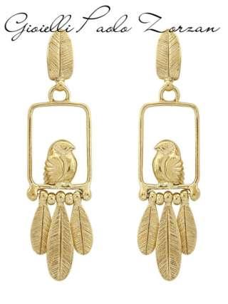 Orecchini taratata in bronzo dorato ref. H19-11848-20S-0