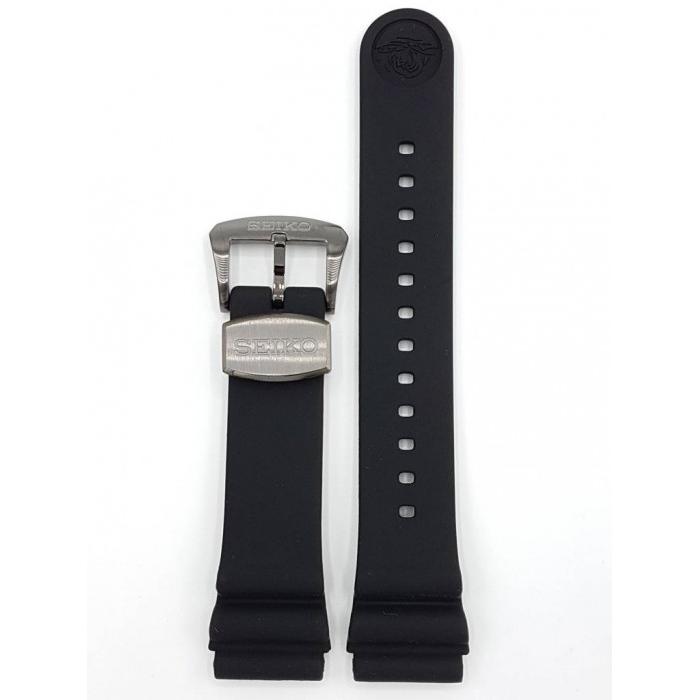 Cinturino Gomma Originale Seiko Prospex per Samurai e Turtle 22 mm ref. R02F011J0  Orologi Uomo