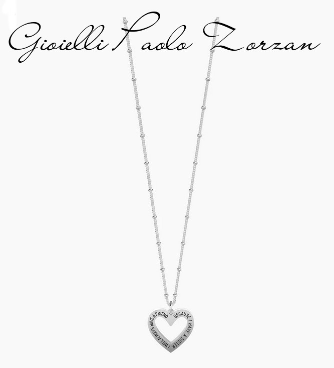 Collana Kidult Family Sister Friend 751173    Collane Gioielli Donna Girocolli