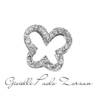 Elemento Farfalla Big in Oro Bianco e Diamanti Elements di Donna Oro Ref. DCHF5064.006    Elementi per Bracciali Gioielli Donna Simboli