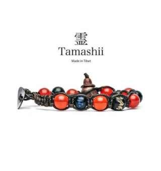 Bracciale Tamashii agata rosso passione bhs900-124         Bracciali Bracciali Bracciali a Sfere Gioielli Donna Gioielli San Valentino Gioielli Uomo Per Lei Per Lui