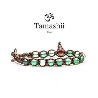 Bracciale Tamashii Giada Verde Striata (6mm) BHS601-140       Bracciali Bracciali Gioielli Donna Gioielli San Valentino Gioielli Uomo Per Lei