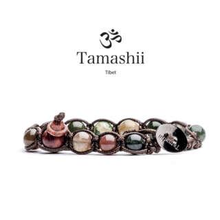 Bracciale Tamashii Agata Muschiata BHS900-17        Bracciali Bracciali Gioielli Donna Gioielli San Valentino Gioielli Uomo Per Lei Per Lui