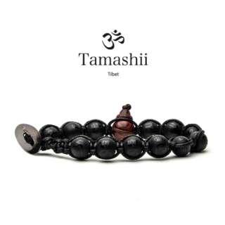 Bracciale Tamashii Mantra Onice Opaco - base Nero BLACKS900-221        Bracciali Bracciali Gioielli Donna Gioielli San Valentino Gioielli Uomo Per Lei Per Lui