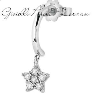 Mono orecchino Bliss stella oro bianco e diamanti 20086509    Gioielli Donna Orecchini Orecchini Schiona