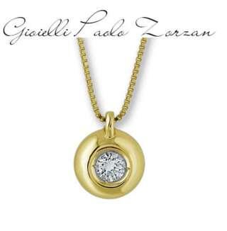 Collana Gemoro punto luce in oro giallo e diamante TOB0015GS.05    Collane Collane Punto Luce Gioielli Donna